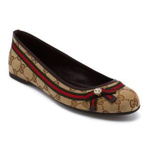Gucci Mayfair Ballet Flats